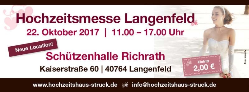 Hochzeitsmesse Langenfeld 2017