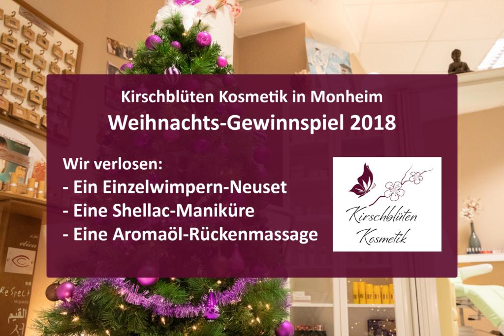 facebook weihnachts gewinnspiel 2018 kirschbl ten kosmetik monheim. Black Bedroom Furniture Sets. Home Design Ideas